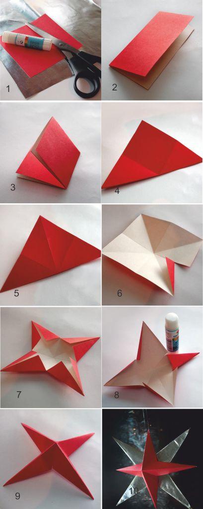 Как сделать поделку из бумаги на новый год