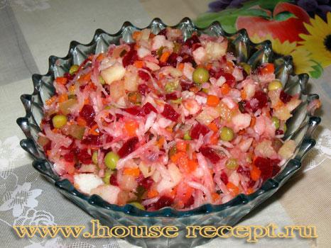 Как сделает салат винегрет