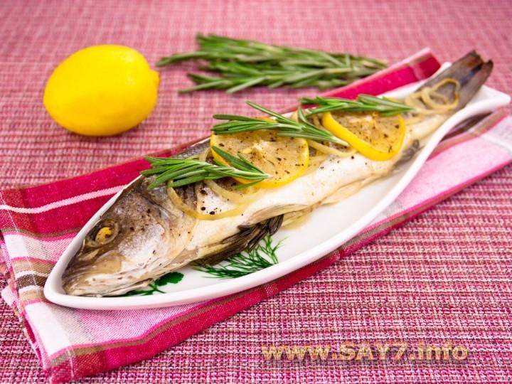 Запеченная рыба с лимоном рецепт