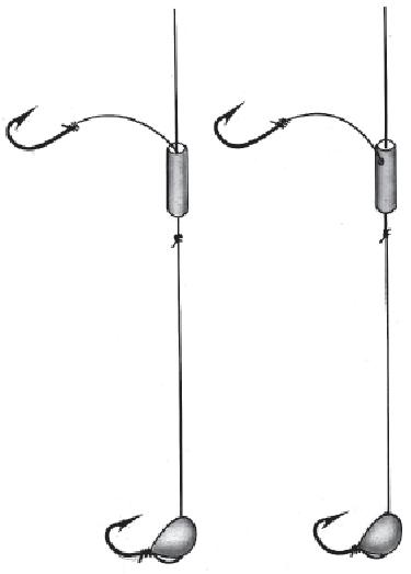 как привязать поводки крючки рыбалка