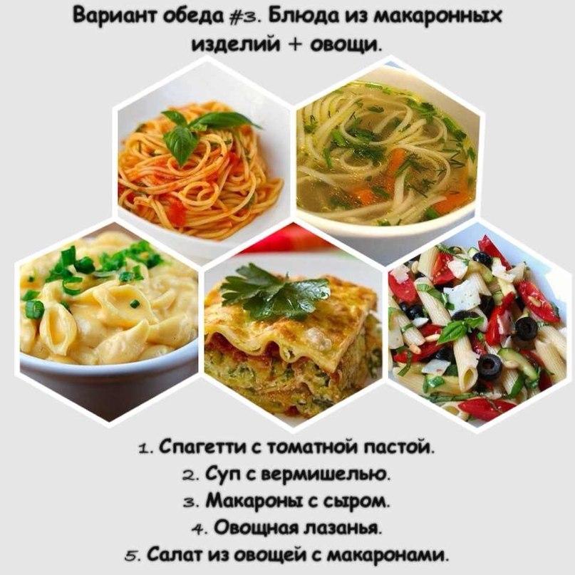 Рецепты белковых ужинов