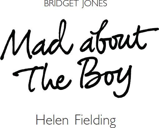 helen fielding mad about the boy pdf