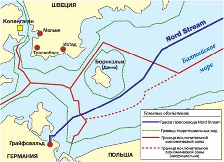 Схема прокладки газопроводов