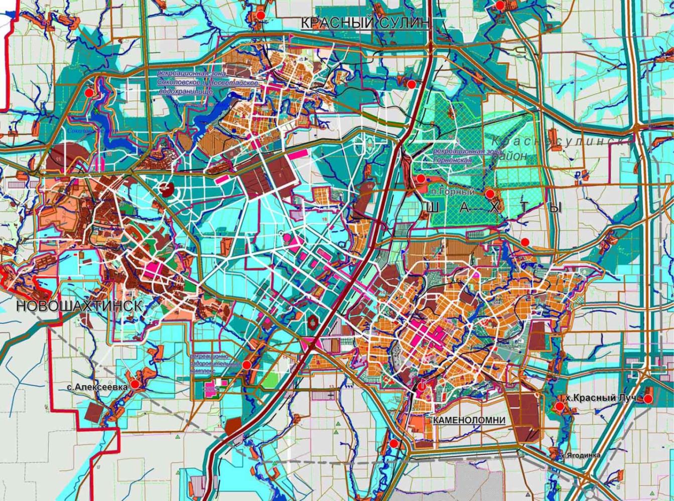 схема территориального планирования ростовской