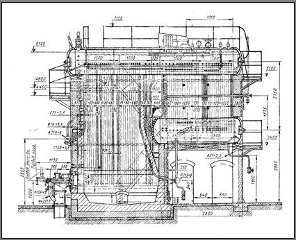 котел типа ДКВР-10-13 в
