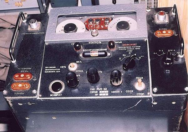 Структурная схема магнитофона