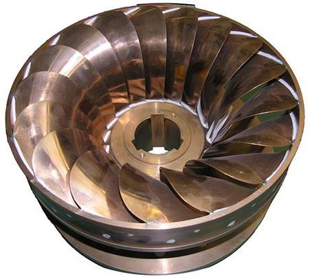 радиально-осевой турбины