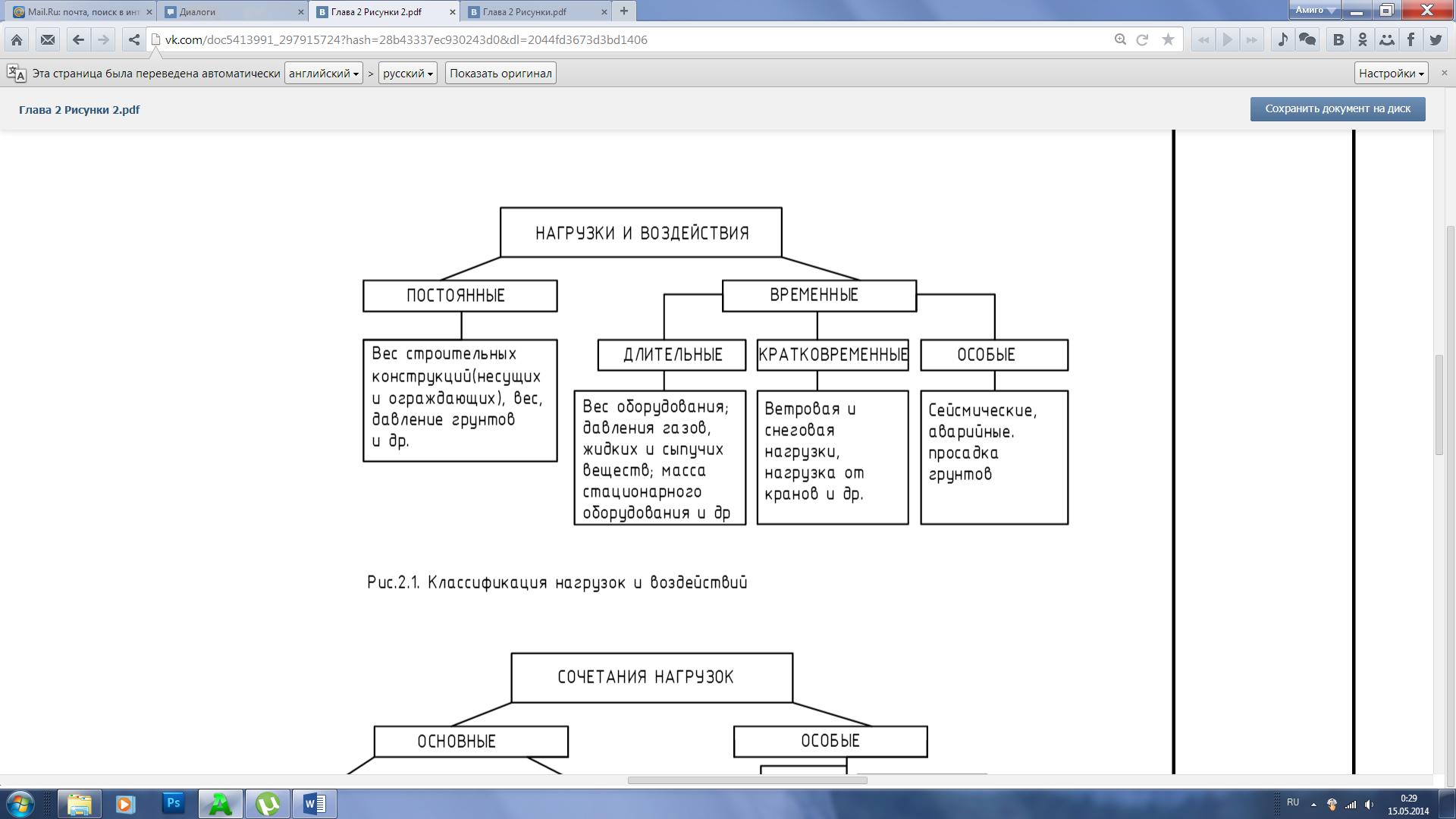 Расчет надежности по структурной схеме