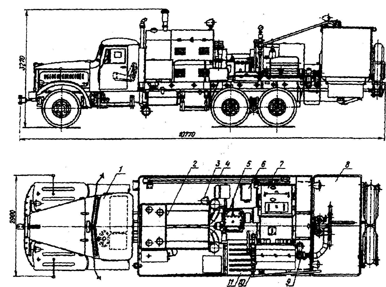 схема обвязки скважинного насоса с гаккумулятором