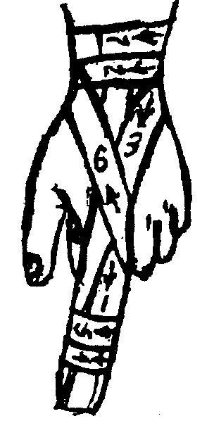 Повязка на стопу и голеностопный сустав (восьмиобразная, бинтовая, косыночная), техника наложения