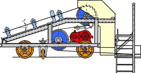 Конвейеры ленточные с разгрузочной тележкой мотор ролик для конвейера