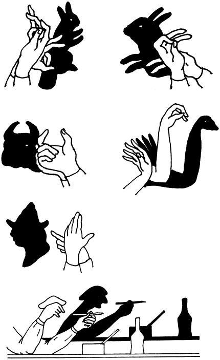 Фигурки для теней своими руками 269