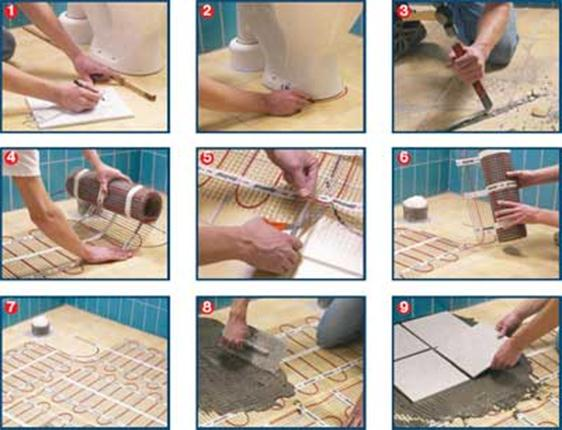 Как класть плитку в ванной своими руками без опыта