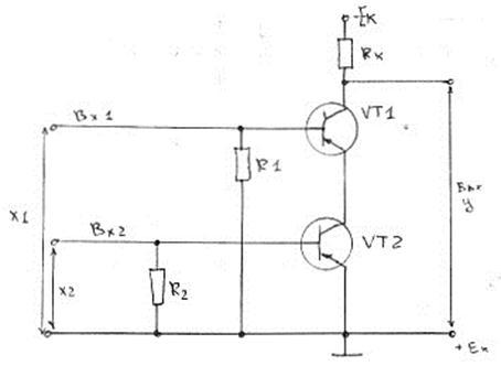 Обозначение элементов микросхем на схемах