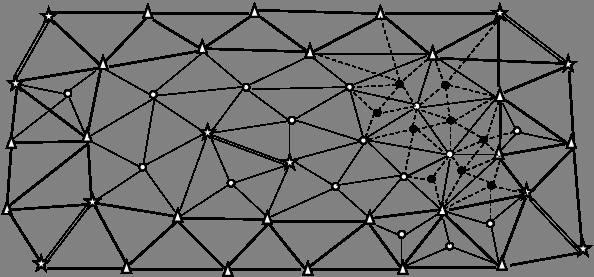рисунок геодезические сети