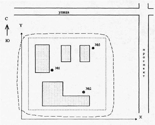 Карта-схема предприятия с