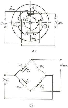 Схема индуктивного датчика
