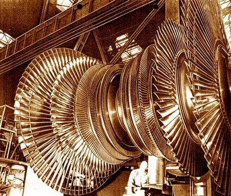 ЦНД мощной турбины