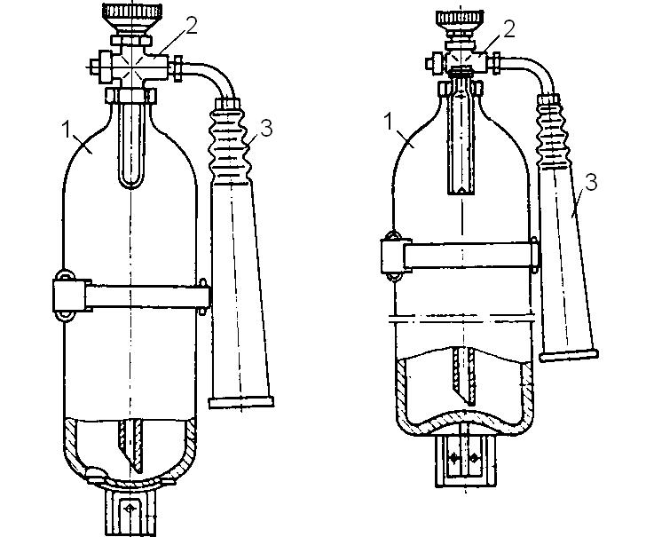 ручной углекислотный ОУ-2