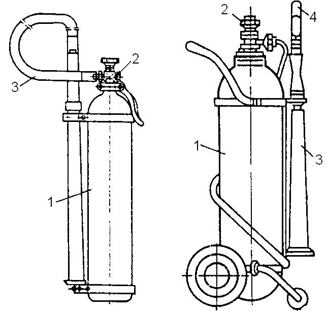 ручной углекислотный ОУ-5