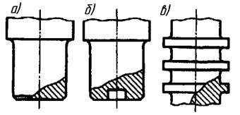 Приведите конструктивные формы осей валов и их опорных частей