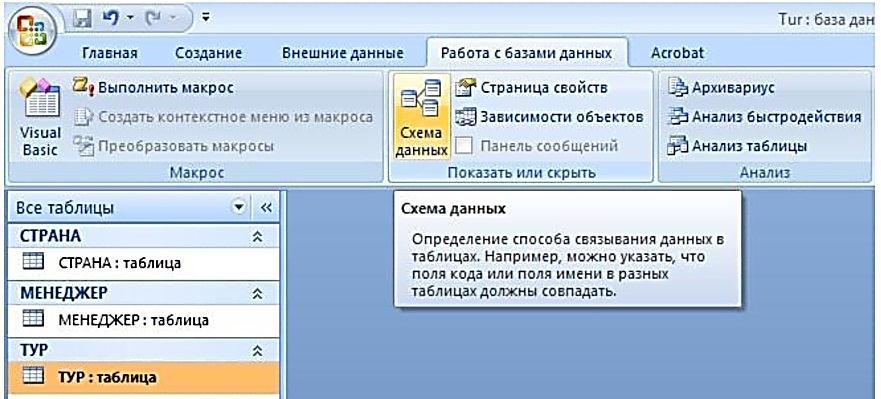 Как создать таблицу данных