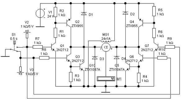 П4.3 Мостовая схема управления