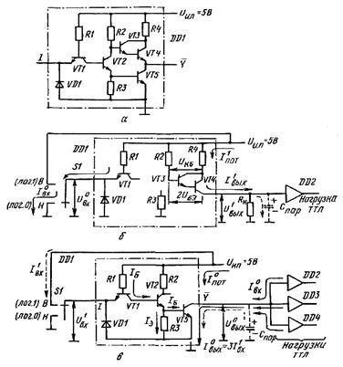 ТТЛ со сложным инвертором: