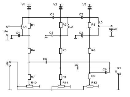 Схема фазового модулятора