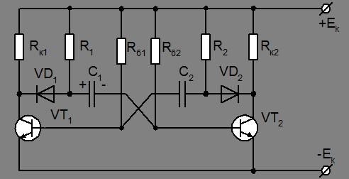 Рис.3.12 Схема транзисторного