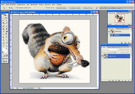 Краткое описание программы Фотошоп: Adobe Photoshop