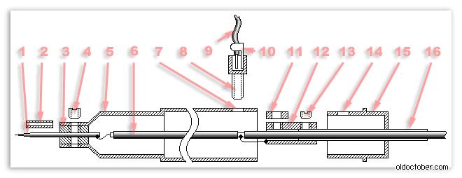 Щуп сумматор для осциллографа