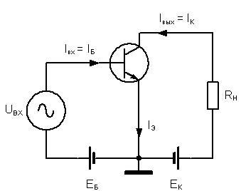 варианты включения транзистора в схеме
