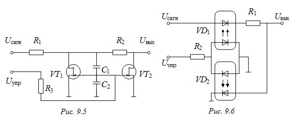 схема аналогового ключа на
