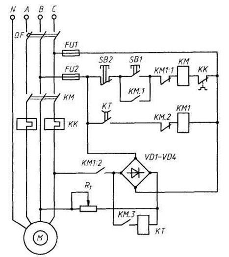 асинхронного двигателя с