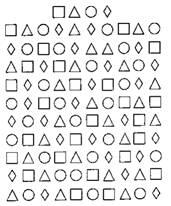 Бланк методики пьерона-рузера