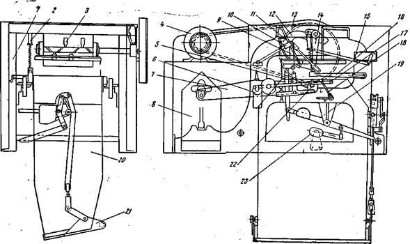 Схема бункерных автоматических