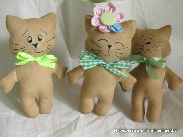 Котик своими руками игрушка