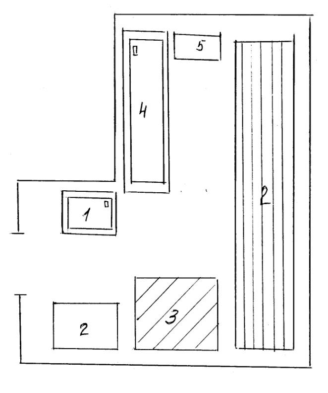 Рисунок 1 – план-схема