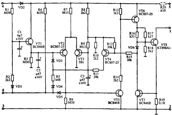 схема коммутатора 84.3734