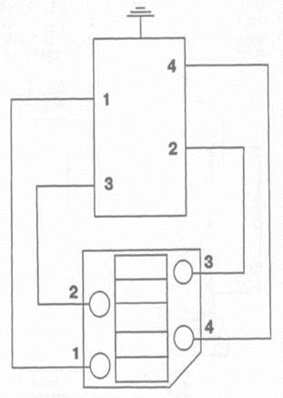 Схема подключения разрядника