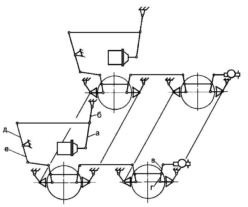 Рисунок Б.2 – Схема тормозной