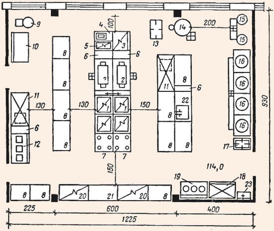 Схема 2 - Примерный план