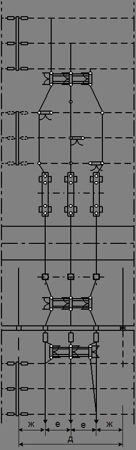 Схема заполнения ячейки ОРУ