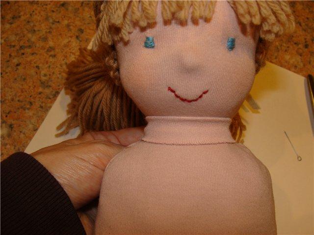 Как сделать мягкую куклу своими руками из