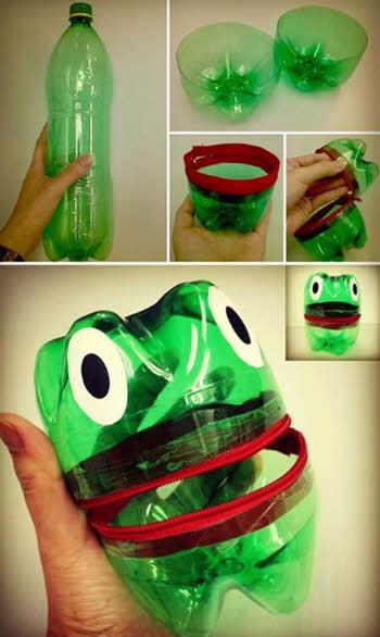 Изделия из пластиковой бутылки своими руками