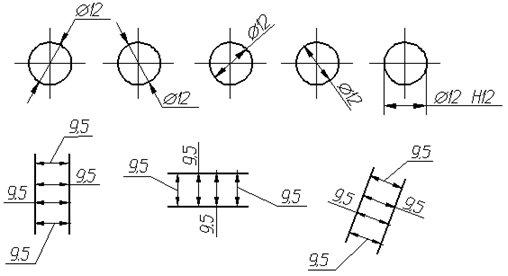 На чертеже выносится радиус или диаметр