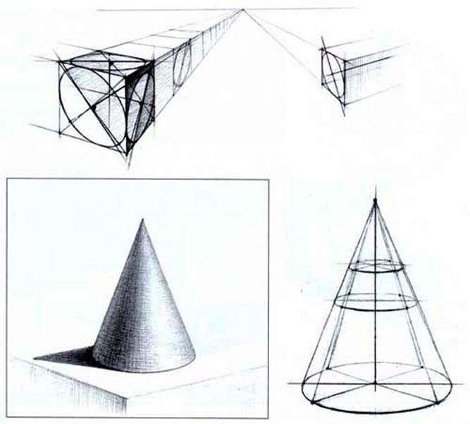 и картинки куб конус