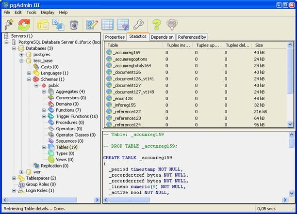 Как сделать базу данных postgresql