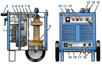 схема сварочного аппарата всж-303